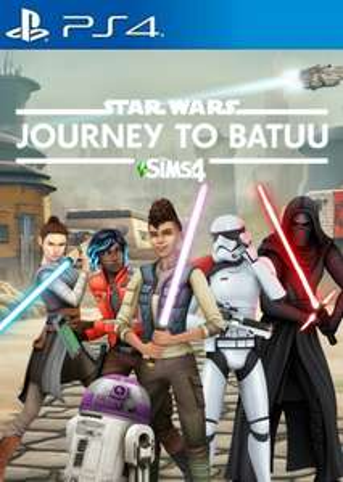 The Sims 4: Star Wars - Journey to Batuu (DLC) (PS4) PSN Key Europe - £6.78 @ Eneba / MSclavis