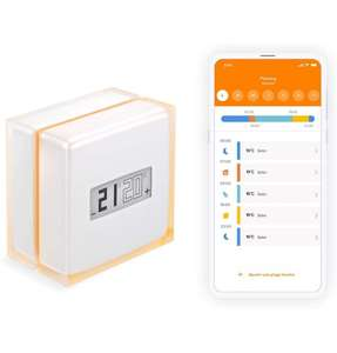 Netatmo Smart Thermostat for individual boiler, NTH01-EN-EC - £99.99 @ Amazon