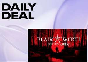 Oculus Daily Deal: Blair Witch: Oculus Quest Edition £14.99