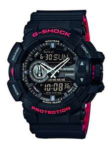 Casio G-Shock Men's Watch GA-400HR-1AER , Black/Red £78.46 @ Amazon