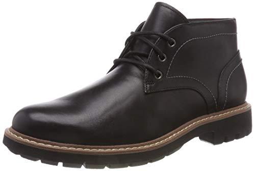 Clarks Men's Batcombe Lo Chelsea Boots (Black/ Dark Tan Lea) Size 7.5 - £28.50 Delivered @ Amazon
