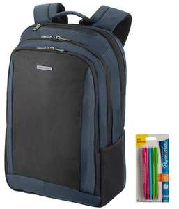 Samsonite GuardIT 2.0 Laptop Backpack M 15.6 - Black and Blue + 10 Mechanical Pencils £20.29 Free Click & Collect (Using Code) @ Robert Dyas