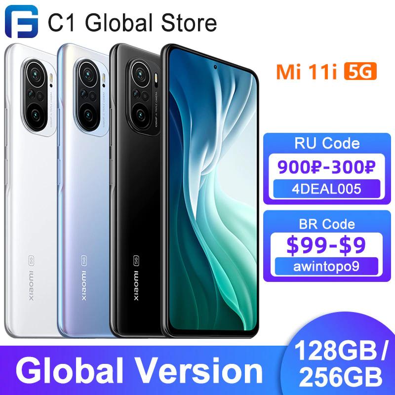 Xiaomi Mi 11i Global Version - 8GB RAM/256 GB ROM - £343.17 AliExpress Deals / C1 Global Store