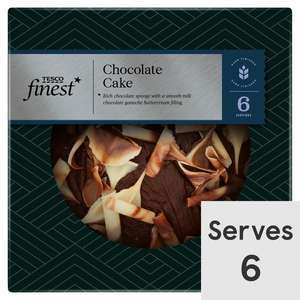 Tesco Finest Cakes e.g Salted Caramel / Red Velvet / Coffee & Walnut - £2 (Clubcard Price) @ Tesco