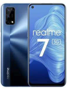 Realme 7 5G Smartphone with Quad Camera 48MP, 5000mAh Battery with 30W NFC 5G - £162.99 @ Amazon