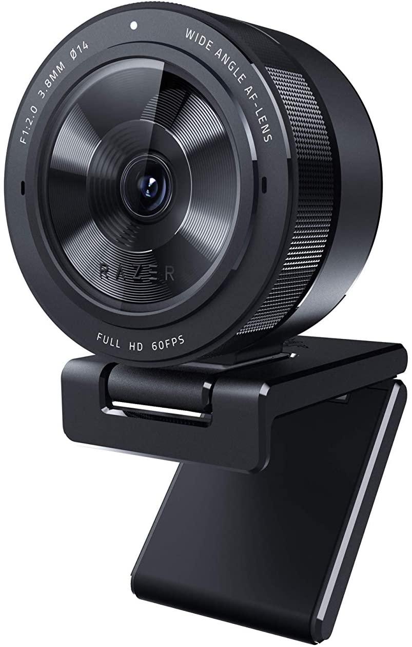 Razer Kiyo Pro - USB streaming camera with high-performance light sensor and stand (webcam, FHD video 1080p, 60 FPS, HDR) £84.95 @ Amazon