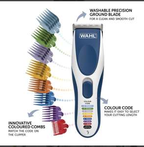WAHL Colour Pro Cordless Clipper £23.32 at Wahl Store