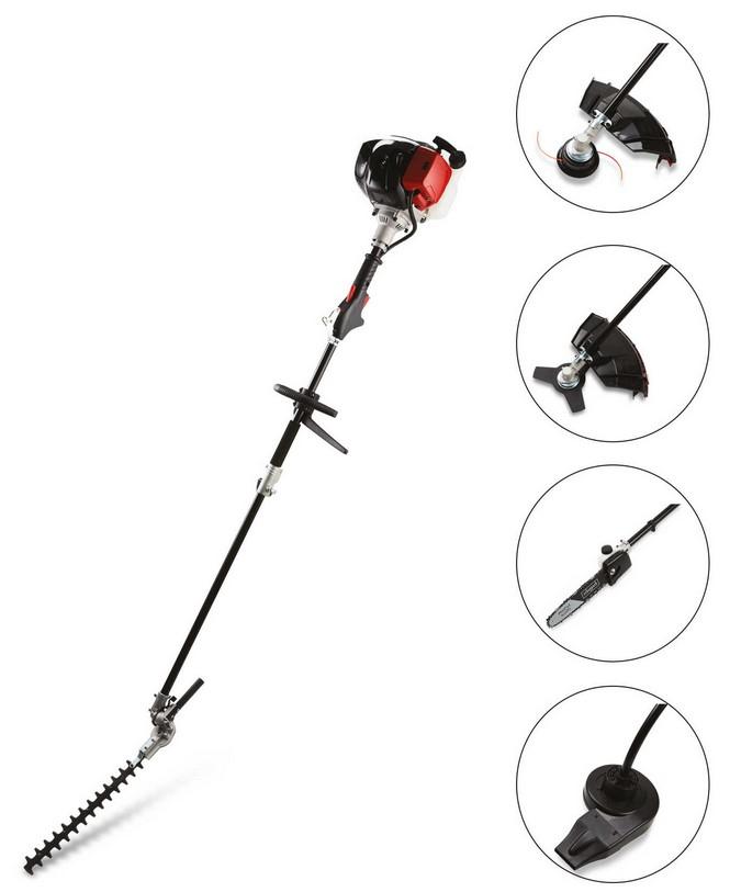 Scheppach 5 in 1 garden multi tool £189.99 + £9.95 delivery at Aldi Online Exclusive