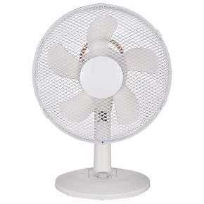 """GOODHOME AOBA 13"""" Desk Fan £13.99 at Screwfix click and collect"""