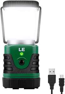 Great Rechargeable Camping Lantern £18.89 + £4.49 NP Sold by Lepro UK and Fulfilled by Amazon