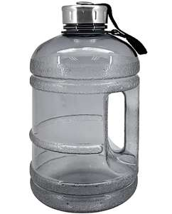 Black 1.9L Gym Water Bottle £2.80 with Free C&C at Selected Stores or Delivery £3.95 @ Dunelm