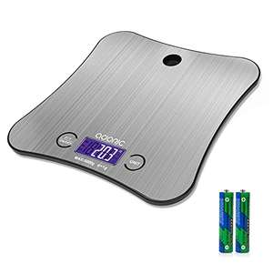 Kitchen Weighing Scales Digital, Adoric Cooking Scales £6.36 + £4.49 NP Sold by Multizone and Fulfilled by Amazon