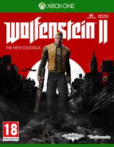 Wolfenstein ll The New Colossus Xbox One Game - £7.99 + free Click and Collect @ Argos