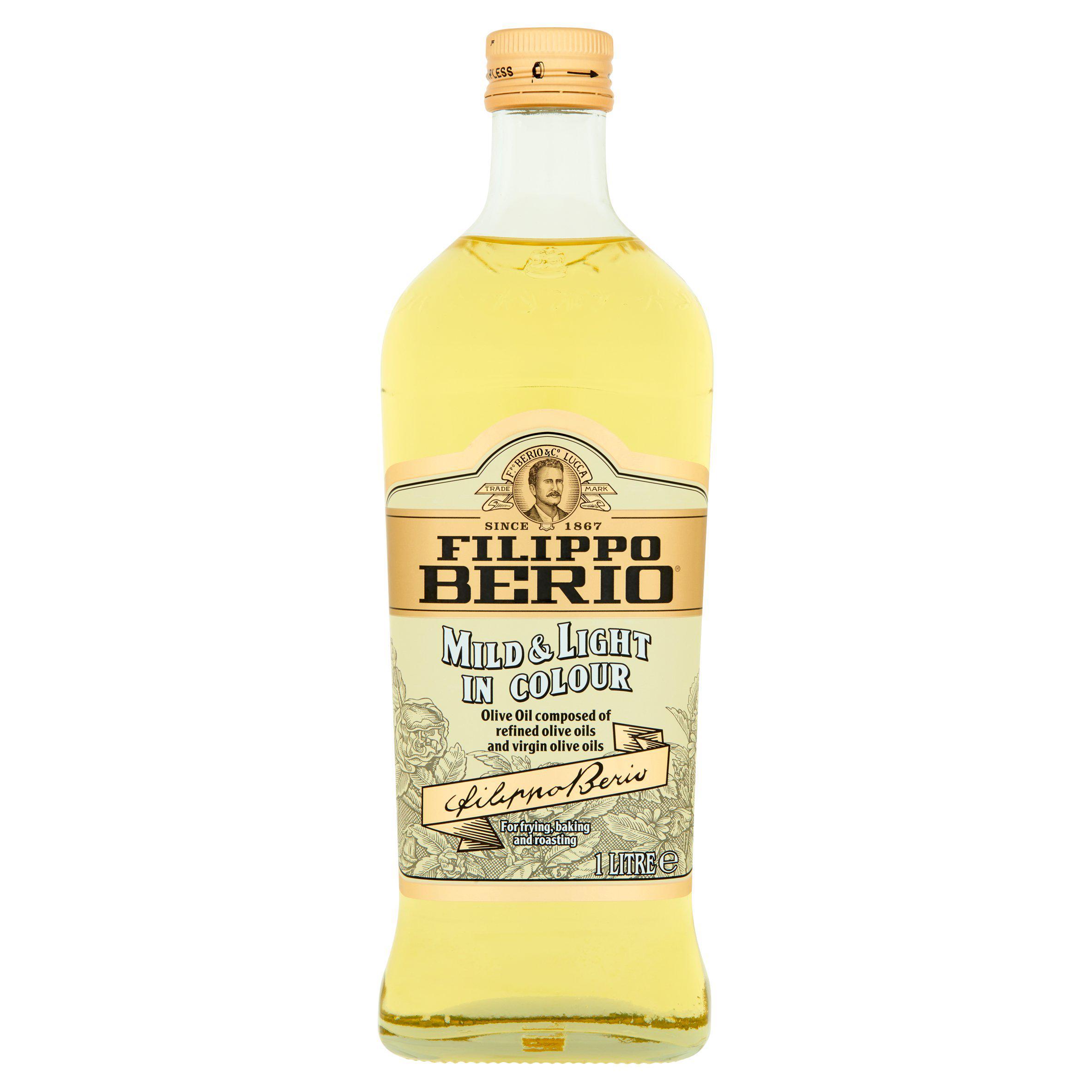 Filippo Berio Mild & Light Olive Oil 1L - £5.50 @ Sainsbury's