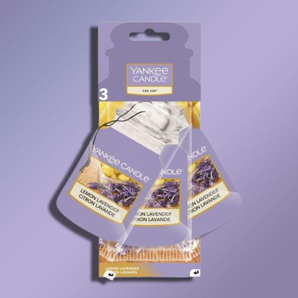 3 x Yankee Candle Lemon Lavender Classic Car Jar Air Fresheners - £3 delivered @ Yankee Bundles