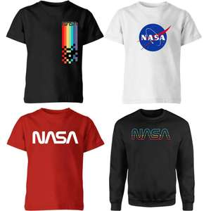 40% Off NASA Clothing + Selected Adult T-Shirts and Mug Sets for £8.99 + Free Delivery @ IWOOT