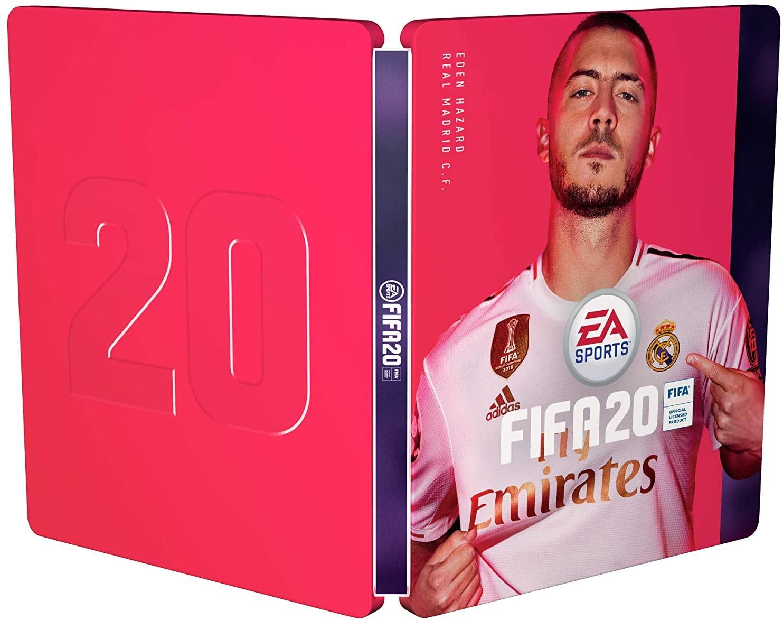 FIFA 20 - Steelbook case for Champions Edition - No Game Included £1.60 (+£2.99 nonPrime) @ Amazon UK