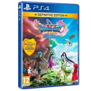 Dragon Quest XI S: Definitive Edition Echoes of an Elusive Age -Definitive Edition + Pre-order Bonus £16.85 at ShopTo