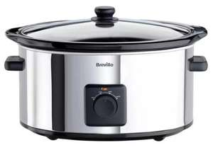 Breville 5.5L Slow Cooker - Stainless Steel £18.99 Click and Collect (Limited Stores) @ Argos