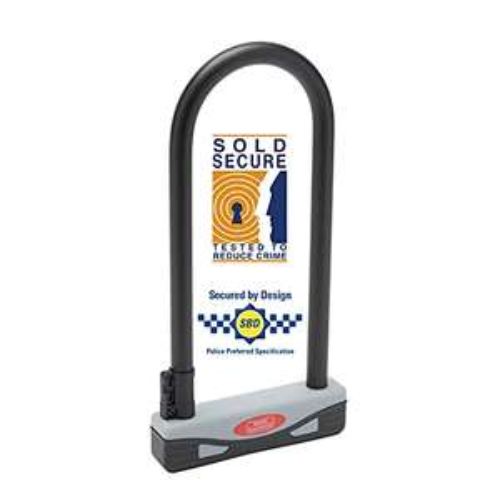 Burg-Wächter 273S 170 x 280mm Large Secure Gold Approved Universal D Lock Bike Lock - Grey/Black £14.99 (+£4.49 nonPrime) Amazon
