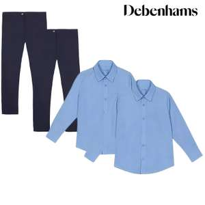 School Uniform from just £2.10 + Free next day delivery using code at Debenhams