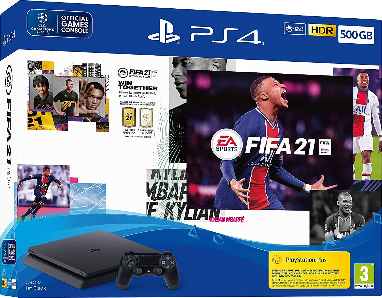 PS4 500gb Console + FIFA 21 £156.98 at Tesco Loughborough