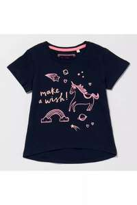 Blue Zoo Girls Unicorn Tee 12-24 months £1.50 delivered with code @ Debenhams