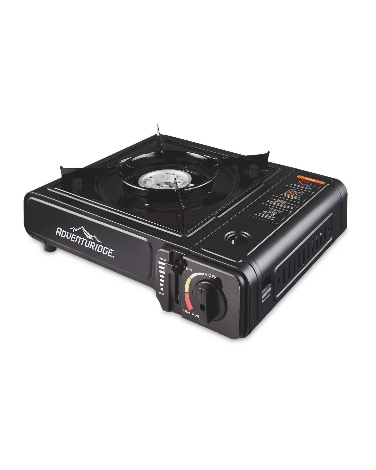 Adventuridge Portable Gas Cooker - £9.99 / £12.94 delivered @ Aldi