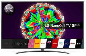 """LG 75NANO796NF 75"""" Smart 4K Ultra HD HDR LED TV with Google Assistant & Amazon Alexa £939 at Currys PC World"""