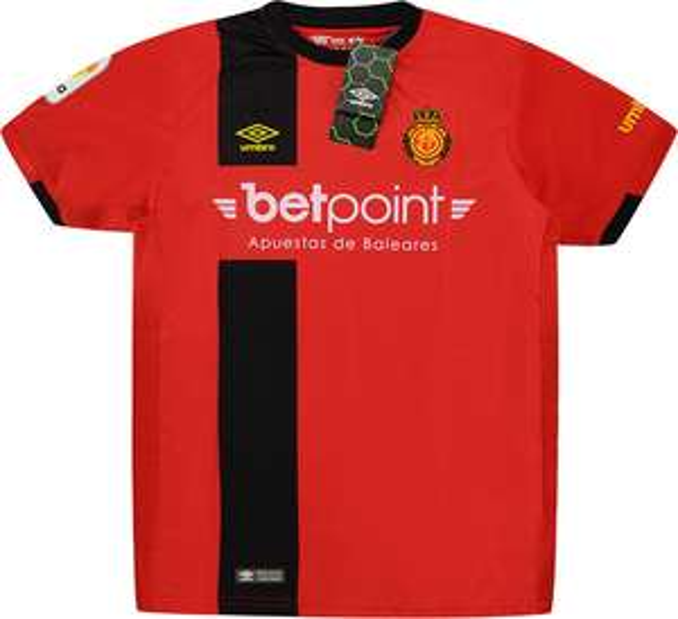2018-19 Mallorca Home & Away Shirt Boys £3.99 (£3 delivery) @ Classic Football Shirts