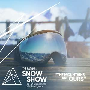 Free tickets to The National Snow Show NEC, Birmingham. Saturday 23 & Sunday 24 October 2021. 9am - 5pm