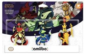 Shovel knight amiibo 3 pack - £19.99 @ GAME instore or with £5 delivery charge online