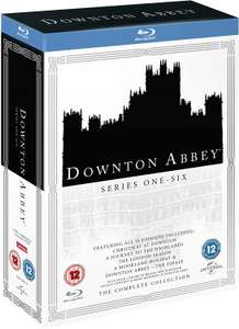 Downton Abbey - The Complete Collection Series 1-6 Blu-ray 22 Disc (used) £16.95 delivered @ Cex