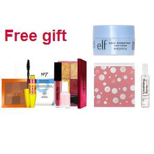 Free Beauty Box with £20 spend on selected cosmetics OR £8 spend on Collection + £1.50 c&c / Free Tin with 3 Soap & Glory Products @ Boots