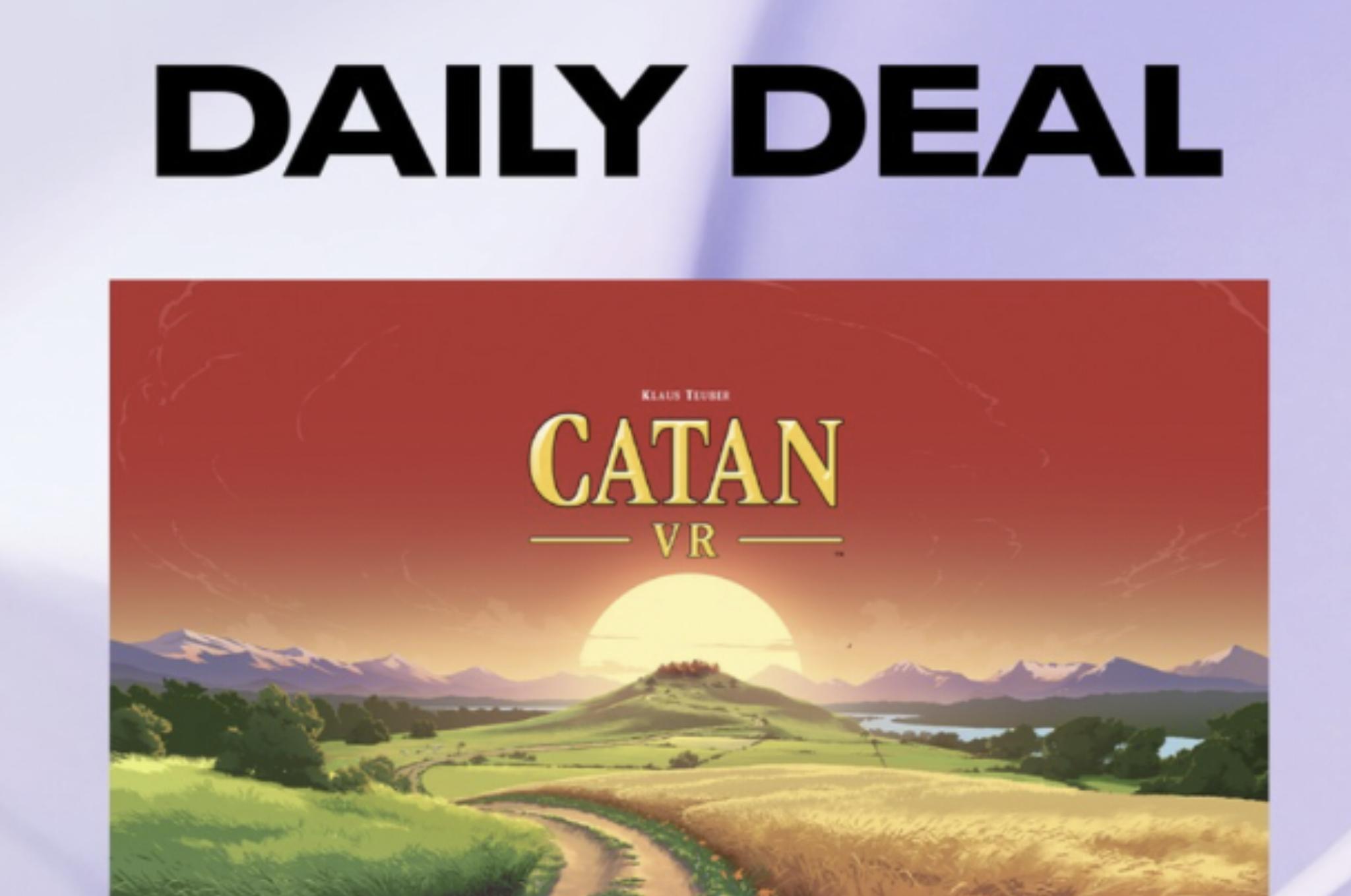 Oculus VR Daily Deal - Catan VR - £8.99 @ Oculus