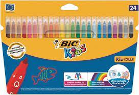 Better than 1/2 price BIC products (e.g Felt Tip Colour Pens 24pk £2 / Plastidecor Crayons 12pk £1 / Evolution Colouring Pencils £1) @ Asda