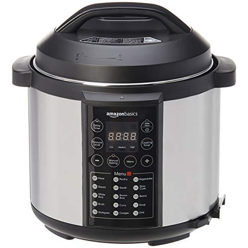 Amazon Basics 23 in 1 Multi-Purpose Electric Steamer, Pressure Cooker, 5.5 Litre - £42.75 Delivered @ Amazon