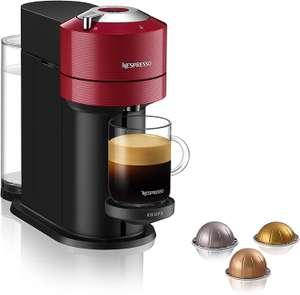 Nespresso Vertuo Next XN910540 Coffee Machine by Krups, Red (Used - Acceptable) - £35.36 @ Amazon Warehouse