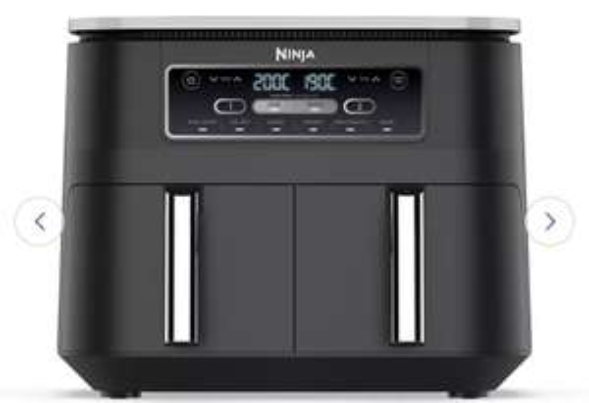 Ninja 7.6L Foodi Dual Zone Air Fryer and Dehydrator £149.99 at Argos