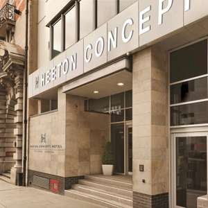 Liverpool 1 night stay for 2 people near Albert Dock (Heeton Concept) - King room with late checkout £37.05 with code (Aug to Dec) @ Groupon