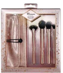 Real Techniques Rosy All Night Make Up Brush Set £5 at Superdrug - free click & collect