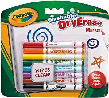 Crayola Dry Erase Washable Markers £2.25 Amazon Prime (+£4.49 Non Prime)