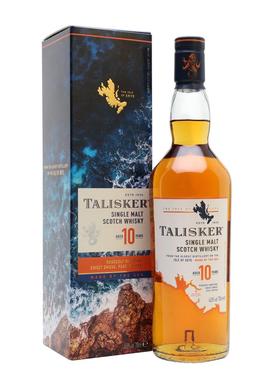 Talisker 10Yr Old Malt Whisky 70Cl Bottle (45.8%) - £30 (Clubcard price) @ Tesco