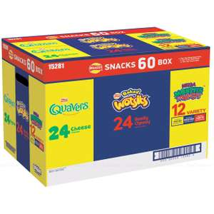 Walkers Snack Box Variety - 60 pack for £5.98 (instore / members only) @ Costco