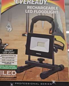 Eveready rechargeable led floodlight - £5 instore @ B&M Dundee Kingsway