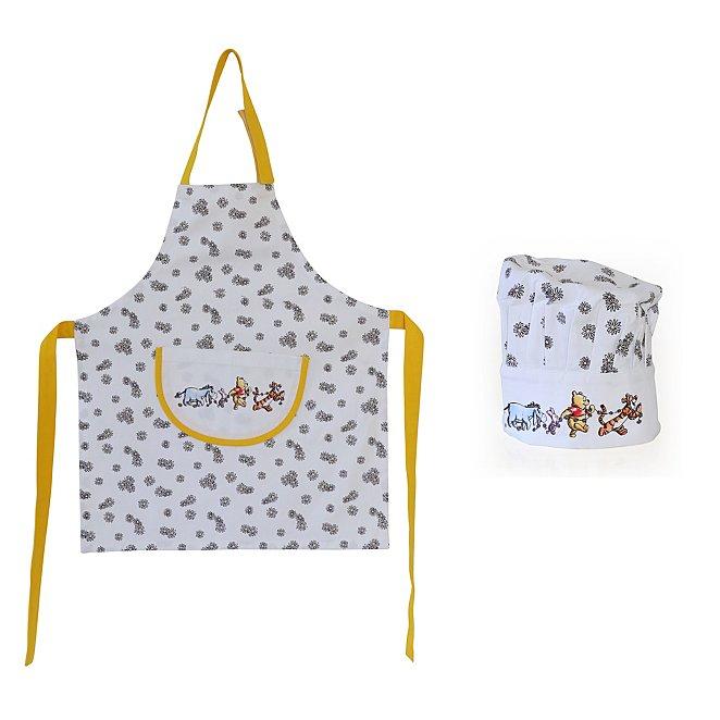 Disney Winnie The Pooh Apron & Hat Set, £6 +Free Click & Collect @ George / Asda