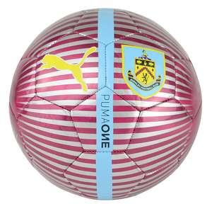 Burnley FC Puma Football Size 5 £3.99 (£3 delivery) @ Classic Football Shirts