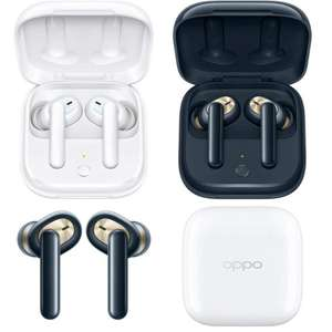 OPPO Enco W51 True ANC Wireless Headphones/IP54 in White or Dark Blue for £44.99 delivered @ Box
