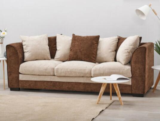 3 Seater Chenille Fabric Sofa - £99.99 delivered (UK Mainland) @ furniture-cj-888 / eBay