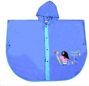 Buy one get one free Peppa Pig George The Pirate Children's Waterproof Rain Poncho in XS, small & medium for £4.49 delivered @ TopToys2U